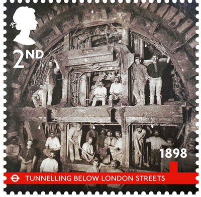 Tunnelling below London Streets