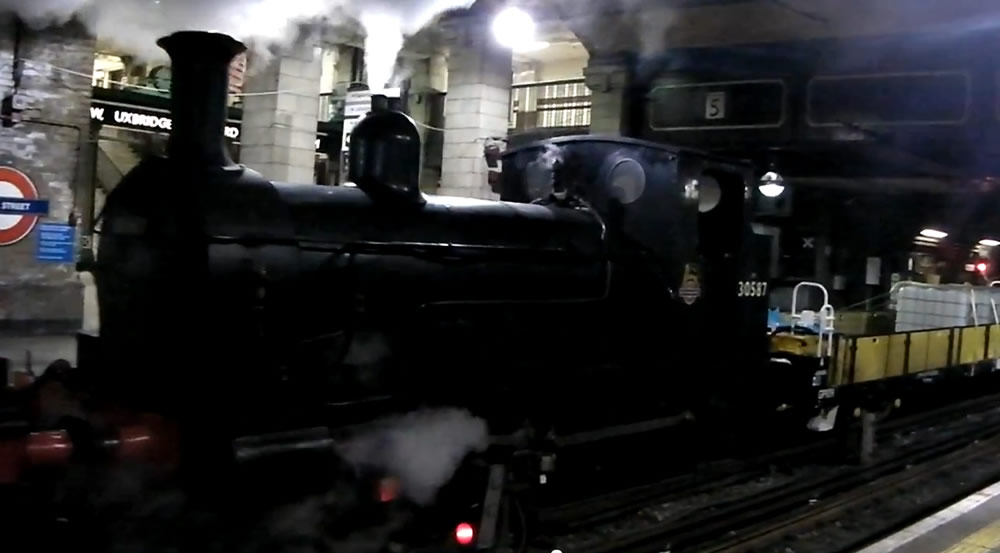 Steaming in Baker Street