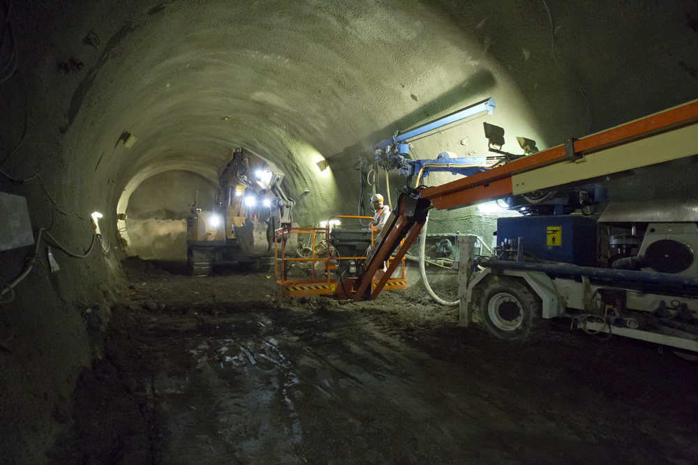 More tunnel work at Stepney Green