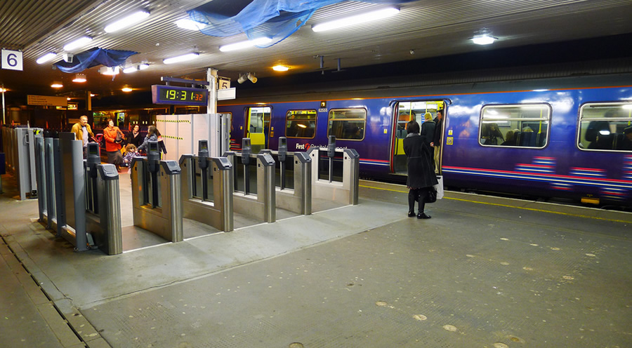 The current ticket barriers