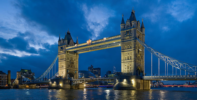 Tower Bridge, John Wolfe Barry's more famous proposal