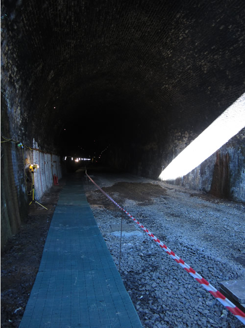 The Tunnel, Looking South