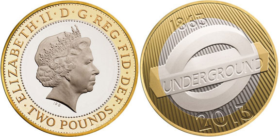 London Underground Commemorative Coin