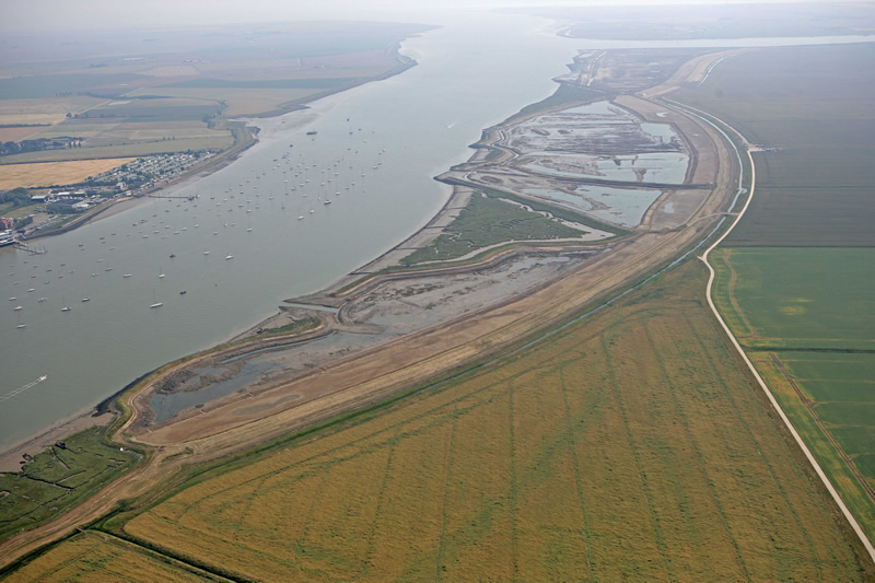 Wallasea From the Air