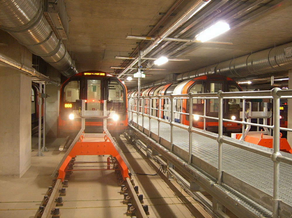 The Central Line Sidings at White City